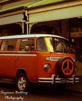 You can't have a suburb of the people who love the old stuff without one of them owning a retro Kombi. :-)