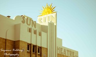 The truly gorgeous Sun Theatre.