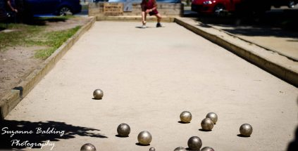 Bocce in the park