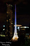 My marvellous Melbourne's Arts Centre spire