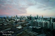 Melbourne from up high.