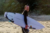 Happy surfer dude #1.